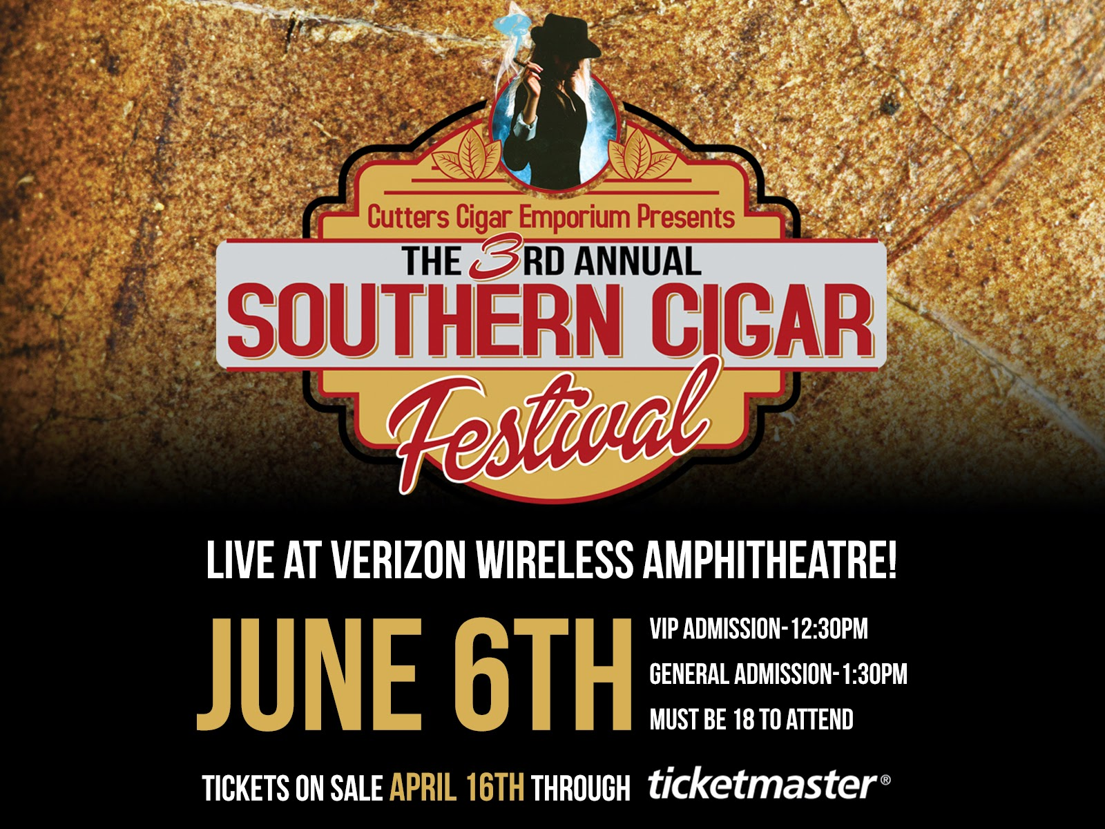 Southern Cigar Festival Preview:  A Look at the Verizon Wireless Amphitheatre