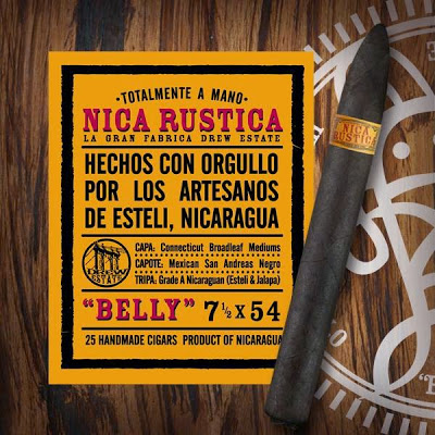 Cigar News: Drew Estate Nica Rustica Belly