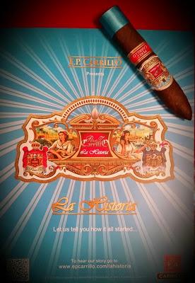 Cigar News: E.P. Carrillo Perez-Carrillo La Historia Regalias d'Celia