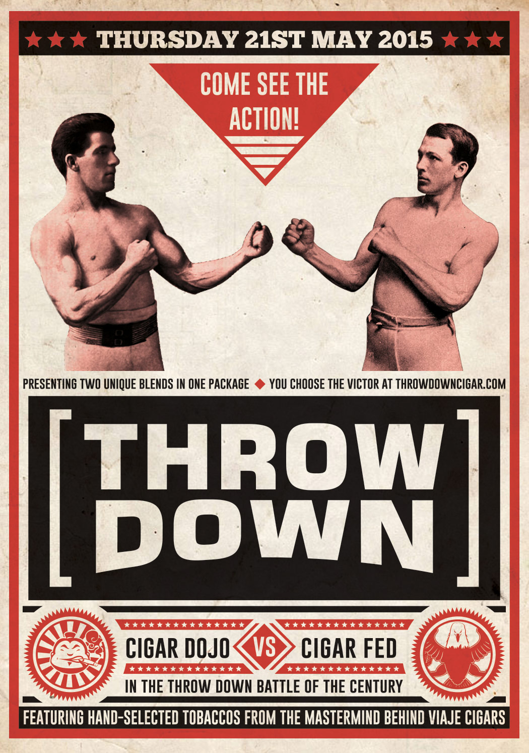 Cigar News: Throw Down by Viaje to be Collaboration with Cigar Dojo and Cigar Federation
