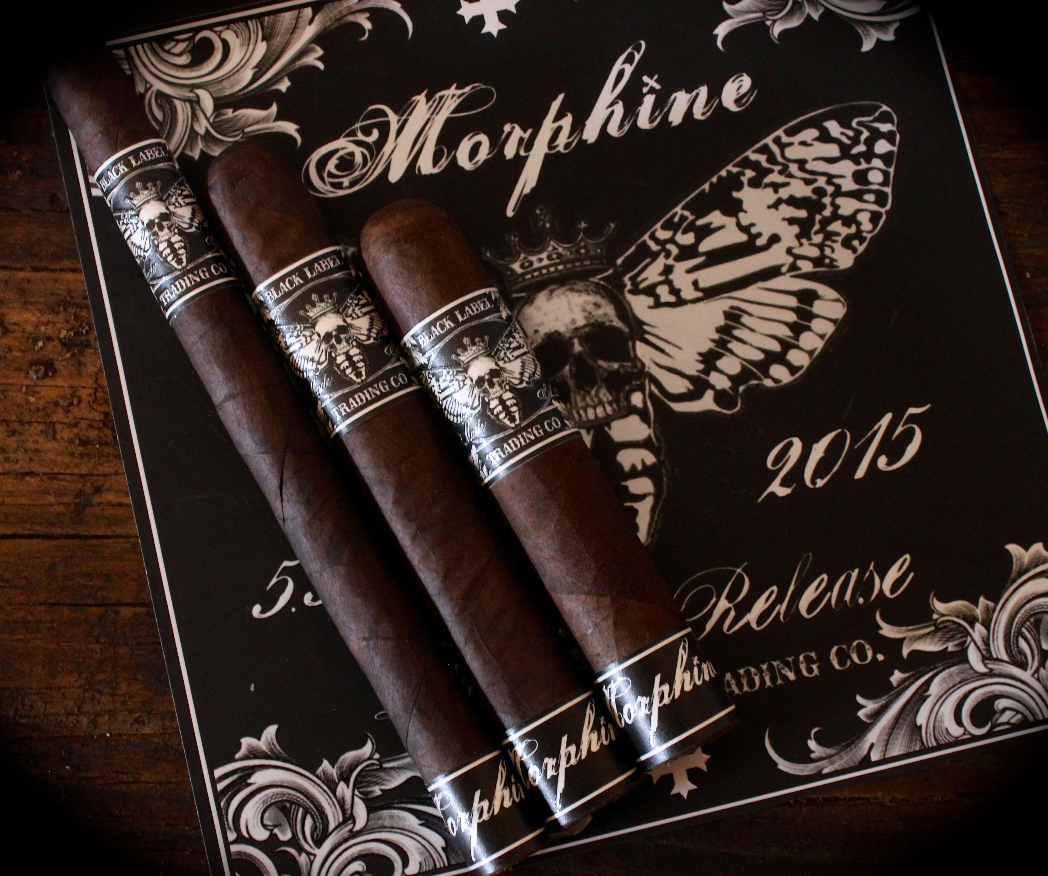 Cigar News: Black Label Trading Company Morphine Returns for 2015