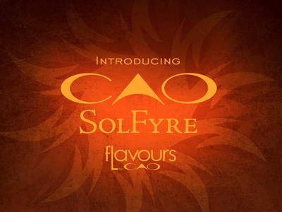 Cigar News: CAO SolFyre