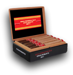 Cigar News: Gran Habano Gran Reserva #5 2011 Now Available