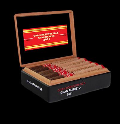 Cigar News: Gran Habano Gran Reserva #5 2011 Now Available