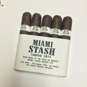 Cigar News: Miami Stash Becomes Second Ortega and Williams Collaboration
