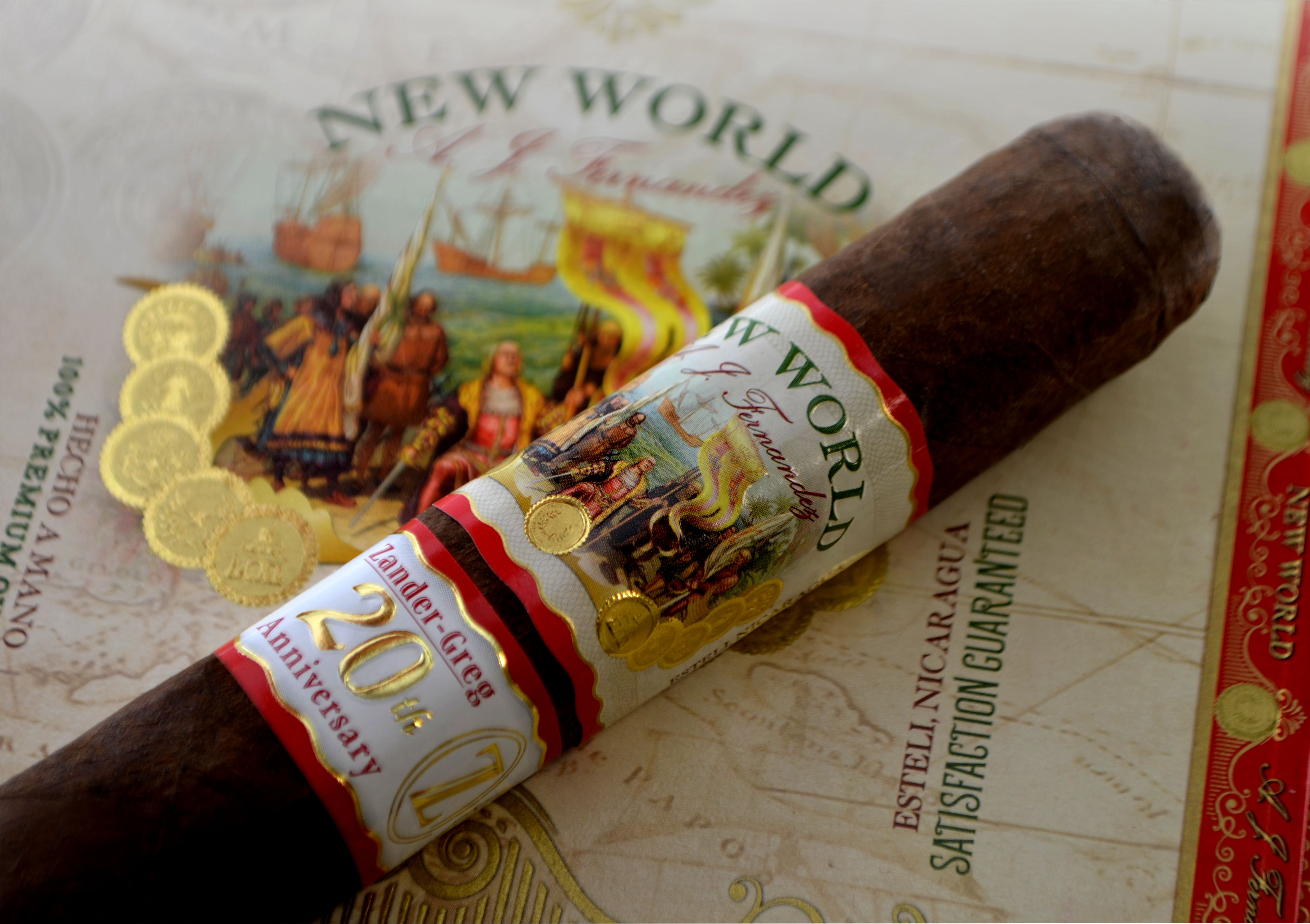 Cigar News: Zander-Greg 20th Anniversary to be Special Edition of A.J. Fernandez New World