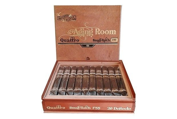 Cigar News: Alliance Cigar adds Aging Room Quattro F55 to DeSocio Collection