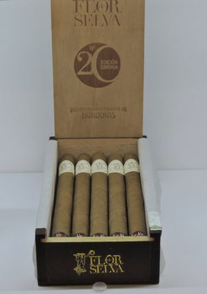 Cigar News: Maya Selva Cigars Launches Flor de Selva No. 20 Limited Edition Lancero