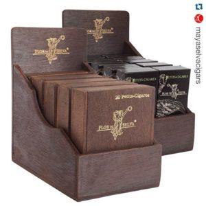 Cigar News: Maya Selva Cigars Unveils Countertop Packaging for Flor de Selva Petit-Cigar