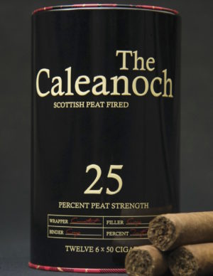 Cigar News: Klin Tobacco to release The Caleanoch Featuring Peat Fired Tobacco