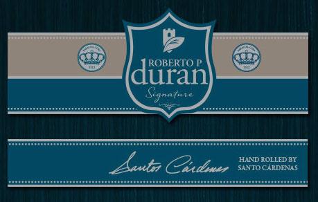 Cigar News: Roberto P. Duran Signature Santo Cardenas Edition