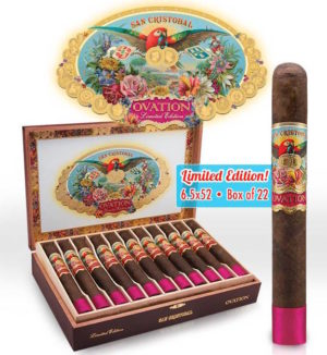 Cigar News: San Cristobal Ovation by Ashton Cigars