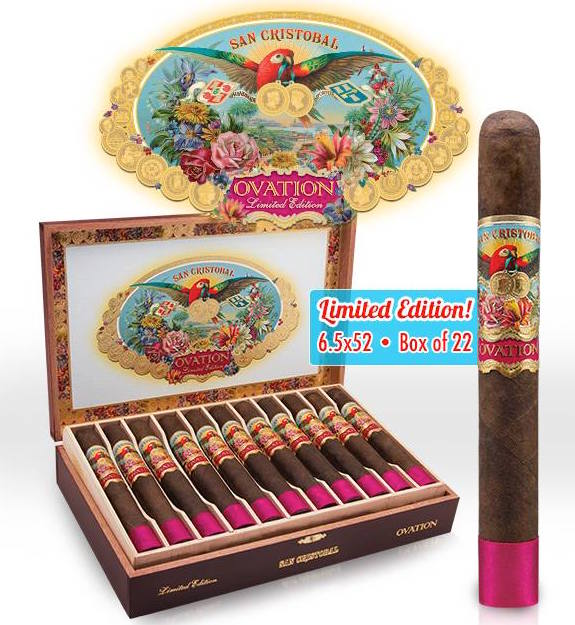 Cigar News: San Cristobal Ovation by Ashton Cigars