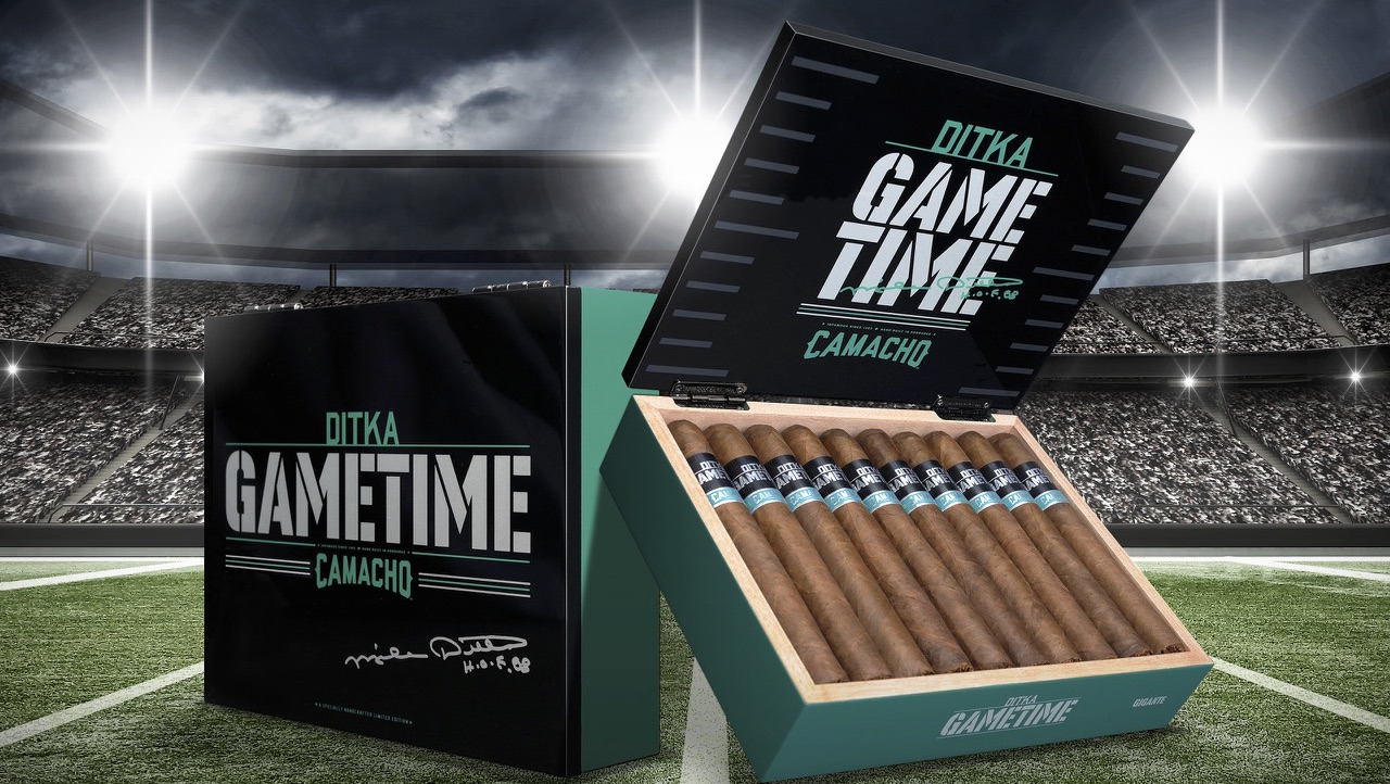 Cigar News: Ditka Game Time by Camacho Cigars