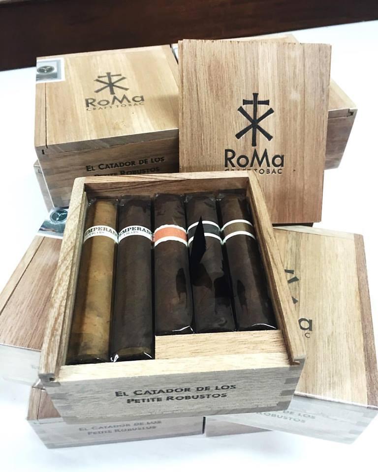 Cigar News: RoMa Craft Tobac El Catador de Los Petite Robustos Features Neanderthal GD