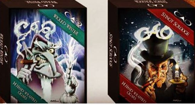 Cigar News: CAO Wicked Winter and Stingy Scrooge to be 2015 Christmas / Winter Themed Releases