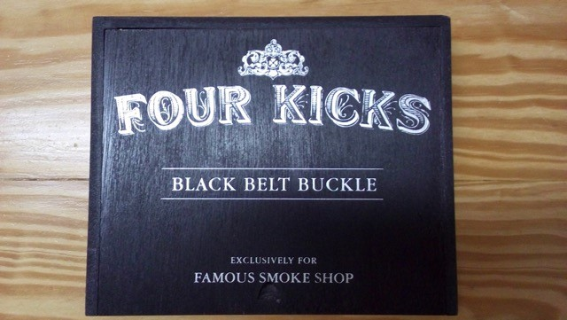 Cigar News: Crowned Heads Four Kicks Black Belt Buckle Becomes Latest Shop Exclusive to Famous Cigar Shop