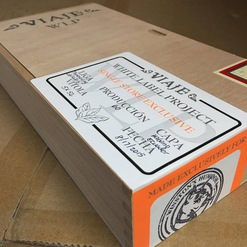 Cigar News: Viaje White Label Project (WLP) Thanksgiving Leftovers to be Single Store Exclusive to Winston's Humidor