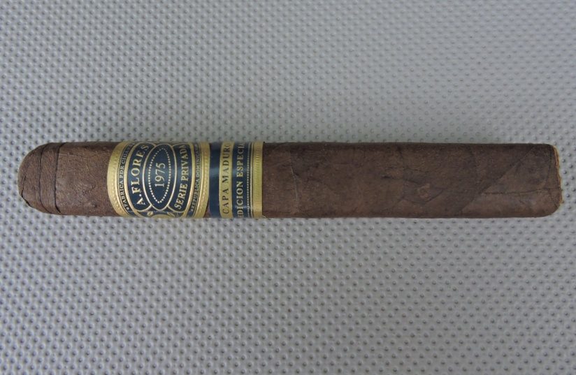 Cigar Review: A. Flores 1975 Serie Privada Capa Maduro SP52 by PDR Cigars