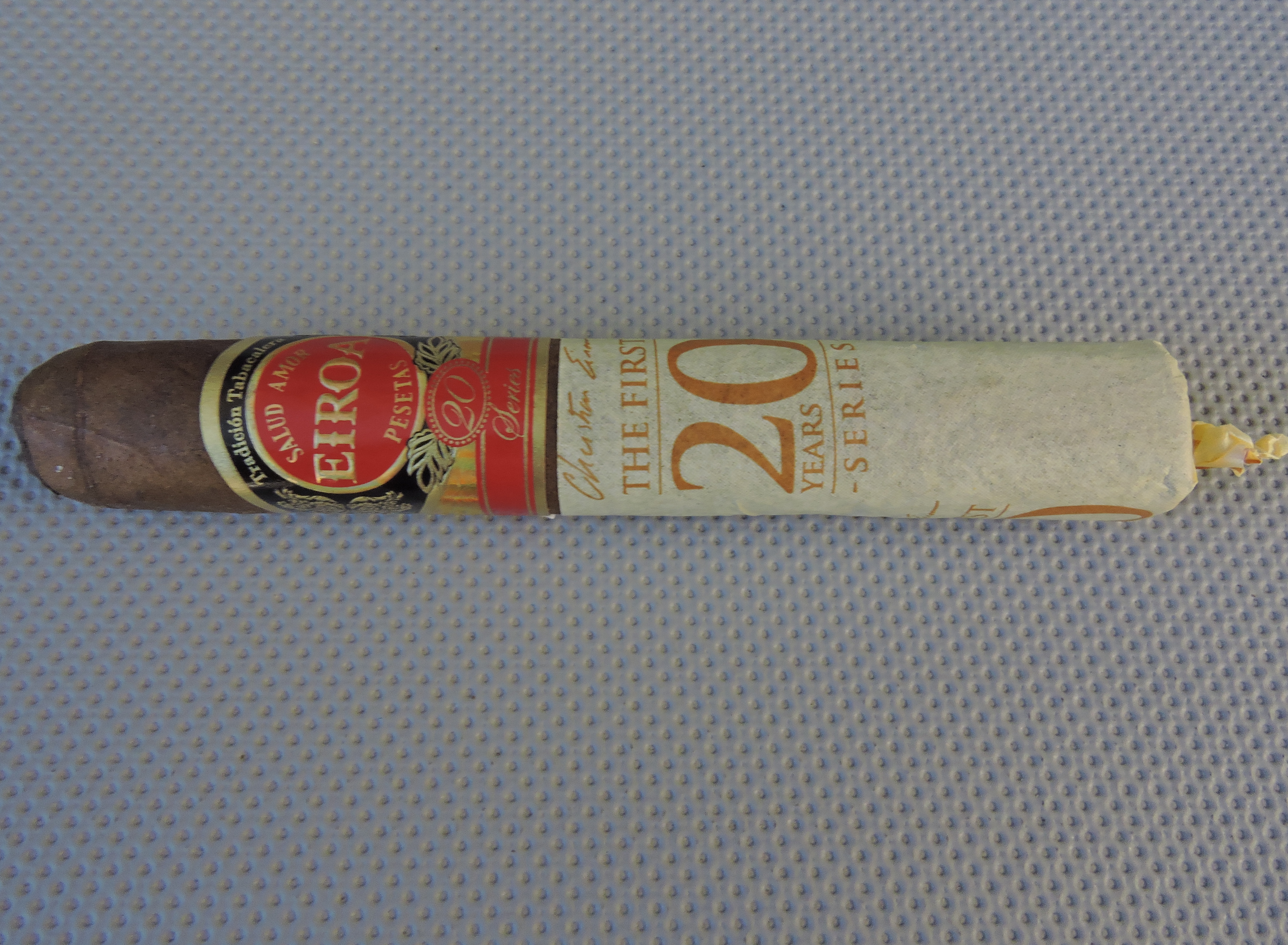 Agile Cigar Review: Eiroa The First 20 Years 60 x 6