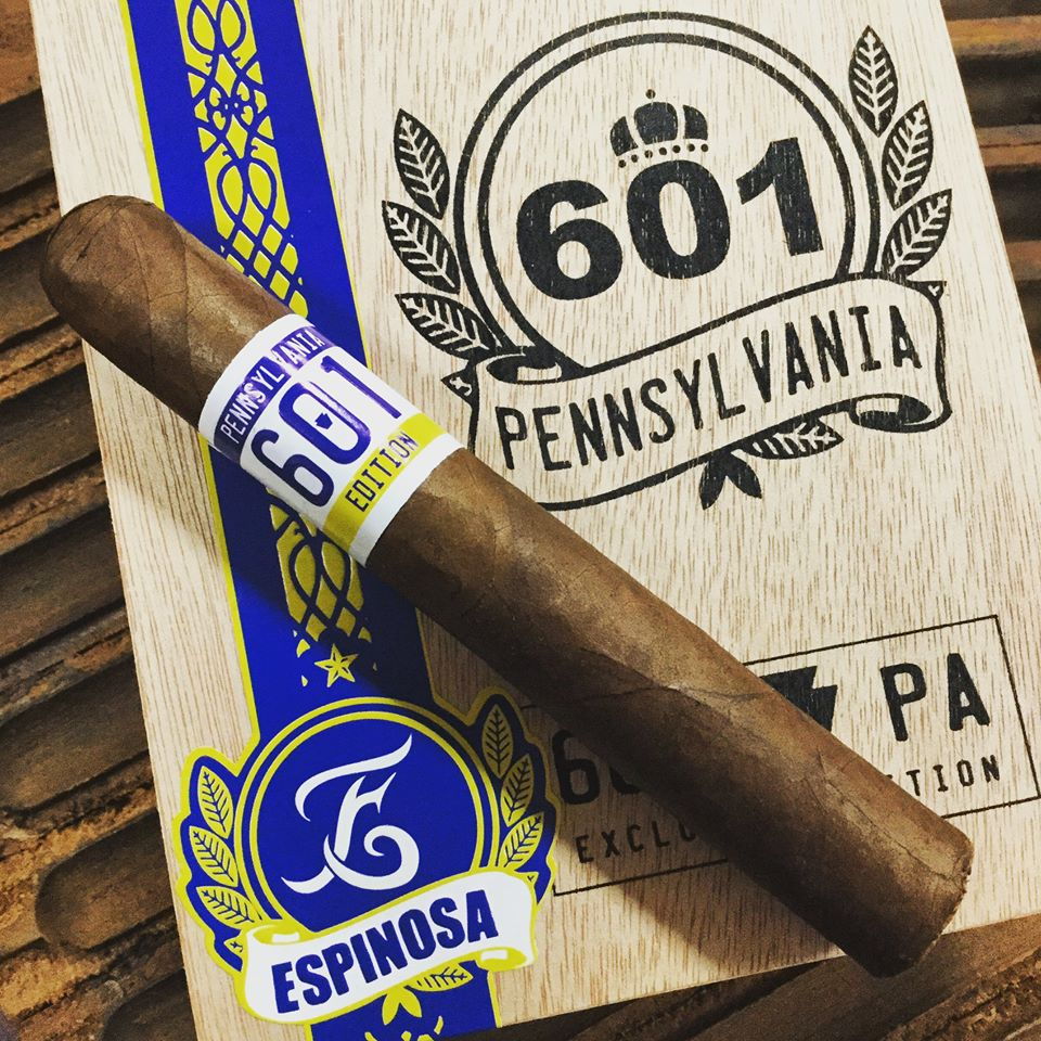 Cigar Review: 601 Pennsylvania Edition Robusto by Espinosa