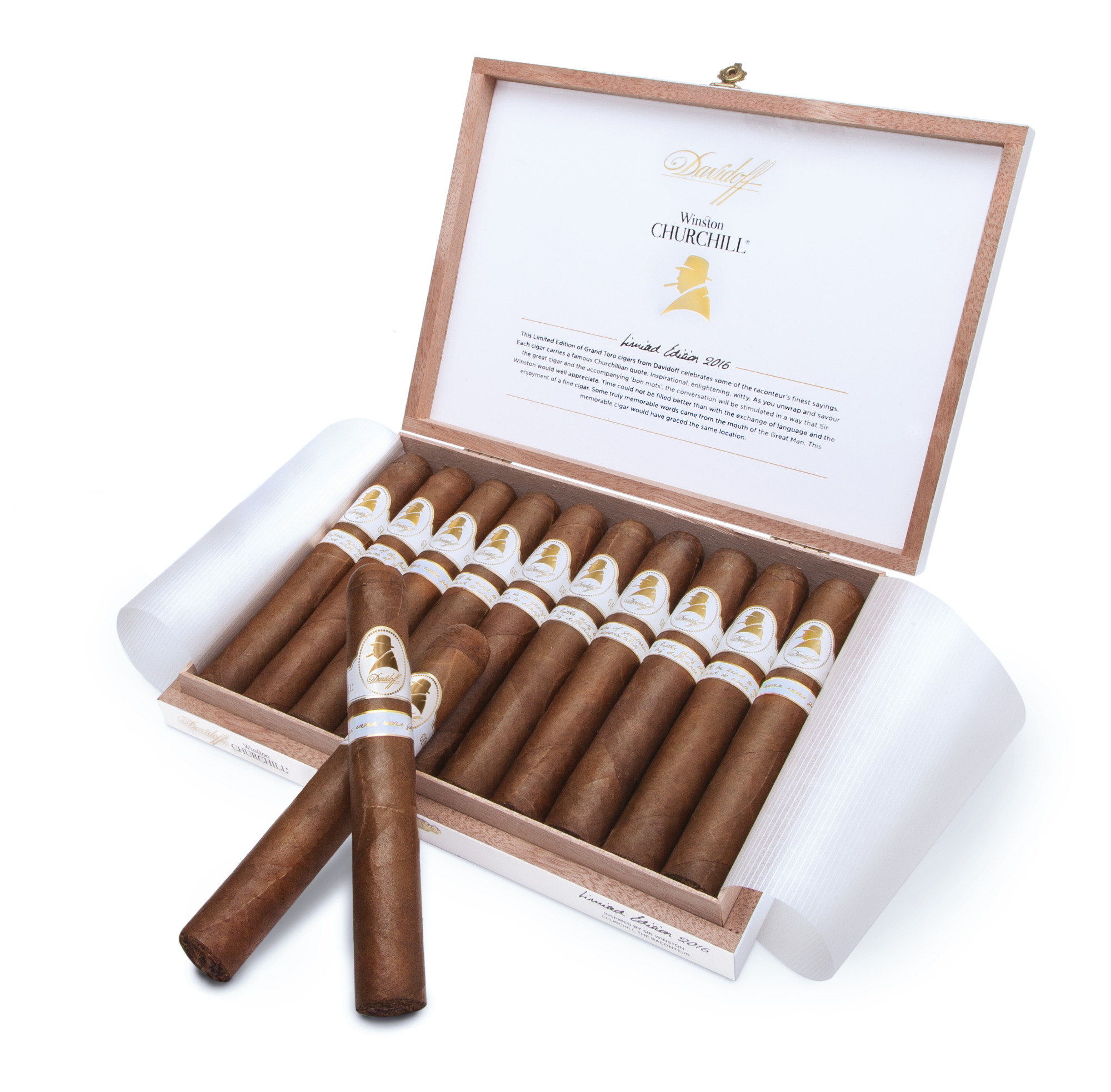 """Cigar News: Davidoff Winston Churchill Limited Edition 2016 """"The Raconteur"""" Launching in January"""