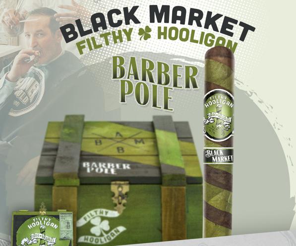 Cigar News: Alec Bradley Black Market Filthy Hooligan Barber Pole Released