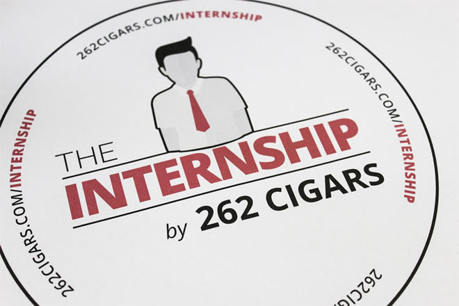 "Cigar News: 262 Cigars Launches ""The Internship"""