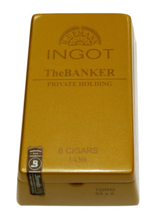 Cigar News: H. Upmann Ingot TheBanker Private Holding Coming This Month