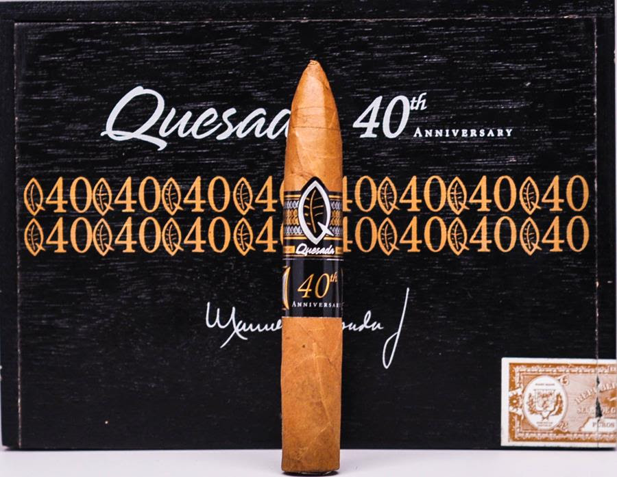 Cigar News: Quesada 40th Anniversary Petite Belicoso Becomes Shop Exclusive for Small Batch Cigar