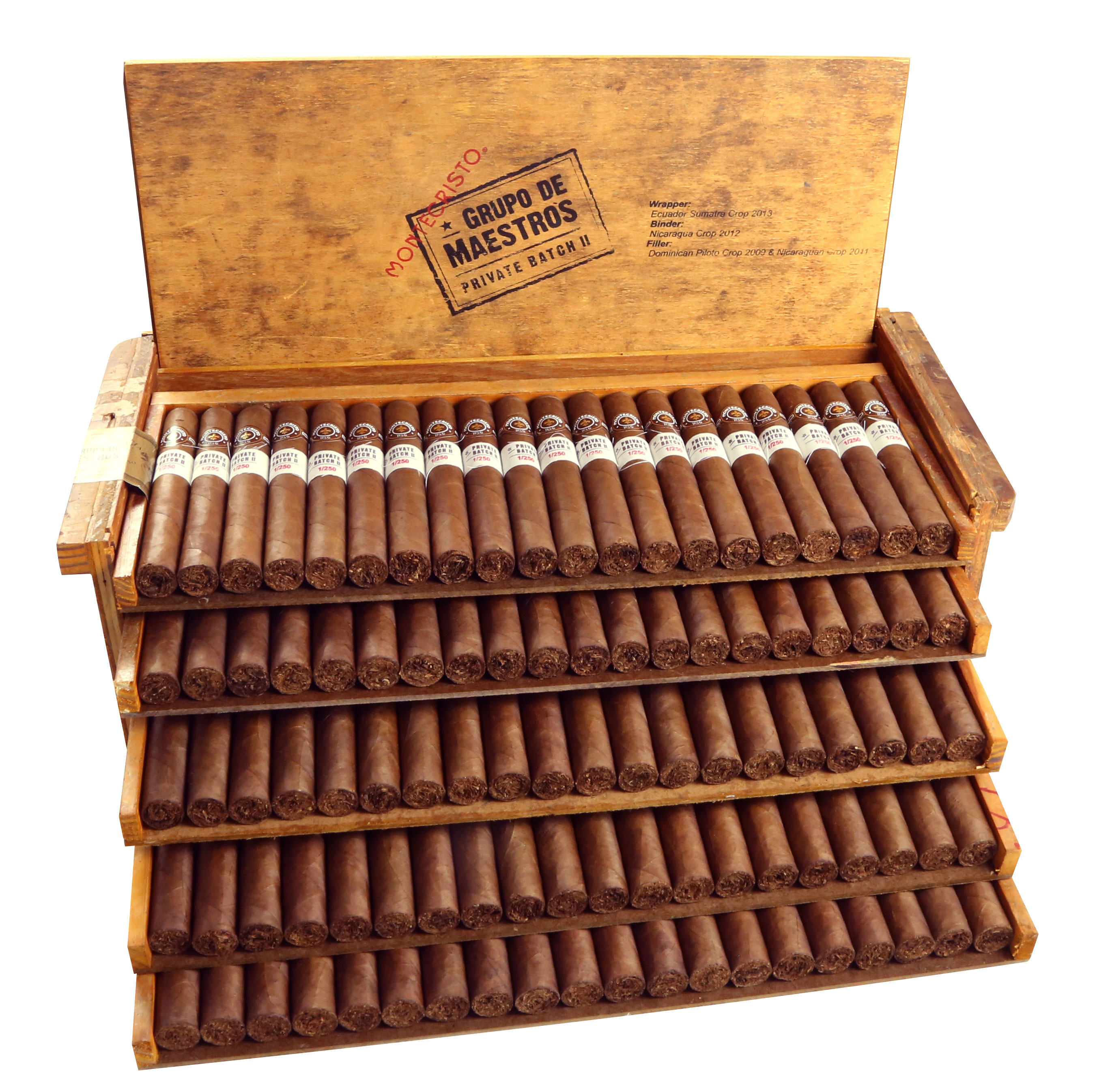 Cigar News: Atladis Announces Montecristo Grupo de Maestros Private Batch II