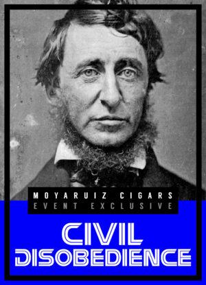 Cigar News: Civil Disobedience Announced as MoyaRuiz Event Cigar