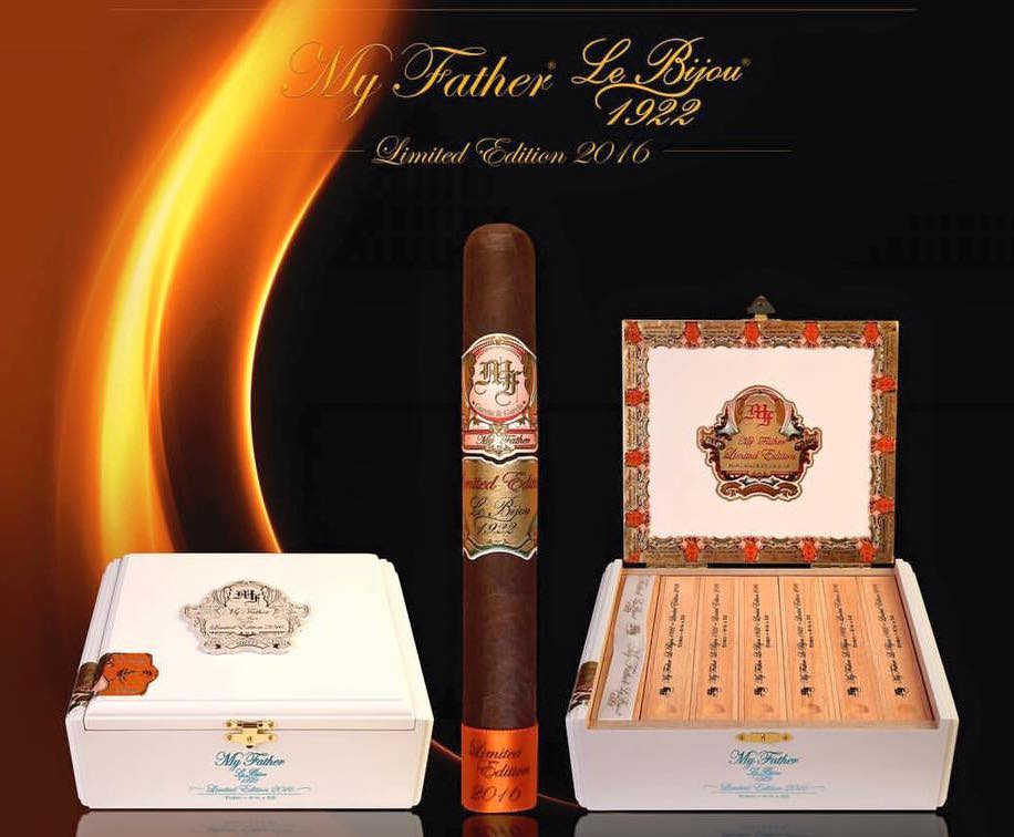 Cigar News: My Father Le Bijou 1922 Limited Edition 2016 Coming Soon