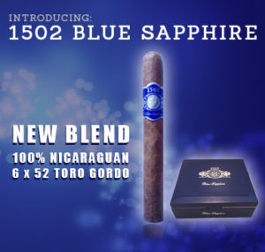Cigar News: 1502 Blue Sapphire to Launch at the 2016 IPCPR