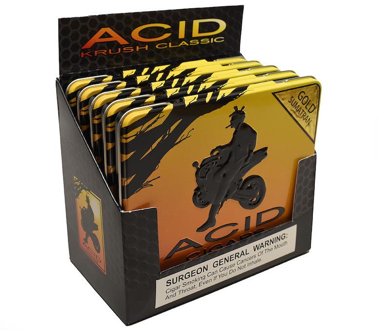 Cigar news drew estate announces acid packaging updates for Classic acid