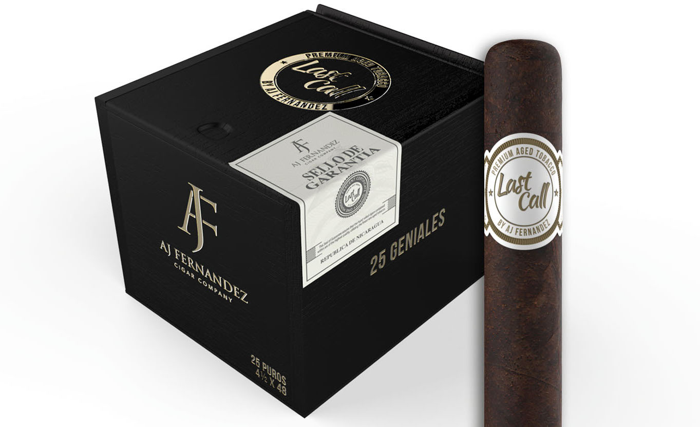 Cigar News: A.J. Fernandez Last Call Maduro Launching at 2016 IPCPR