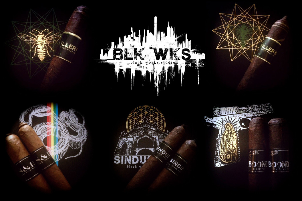 Cigar News: Black Works Studio Adds S&R, Boondock Saint, Sindustry; Adds Line Extensions to Killer Bee, Green Hornet and NBK