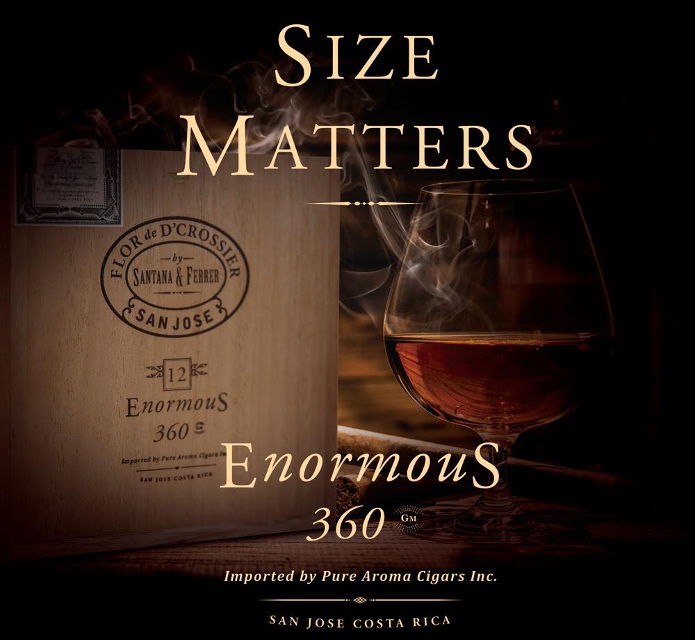 Cigar News: D'Crossier Introducing Flor de D'Crossier Enormous 360