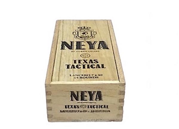 Cigar News: Duran Cigars to Unveil Neya F8 Texas Tactical Lancero