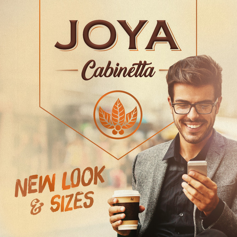 Cigar News: Joya de Nicaragua Cabinetta Serie Rebranded as Joya Cabinetta