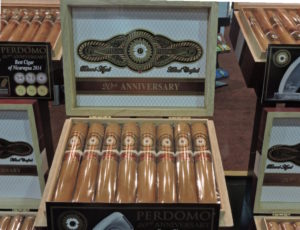 Cigar News: Perdomo 20th Anniversary Connecticut Introduced at 2016 IPCPR