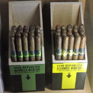 Cigar News: Viva Republica Guerrilla Warfare and Advanced Warfare Add Lancero Line Extensions