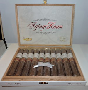 Cigar News: Aging Room Pelo de Oro Launched by Boutique Blends at 2016 IPCPR