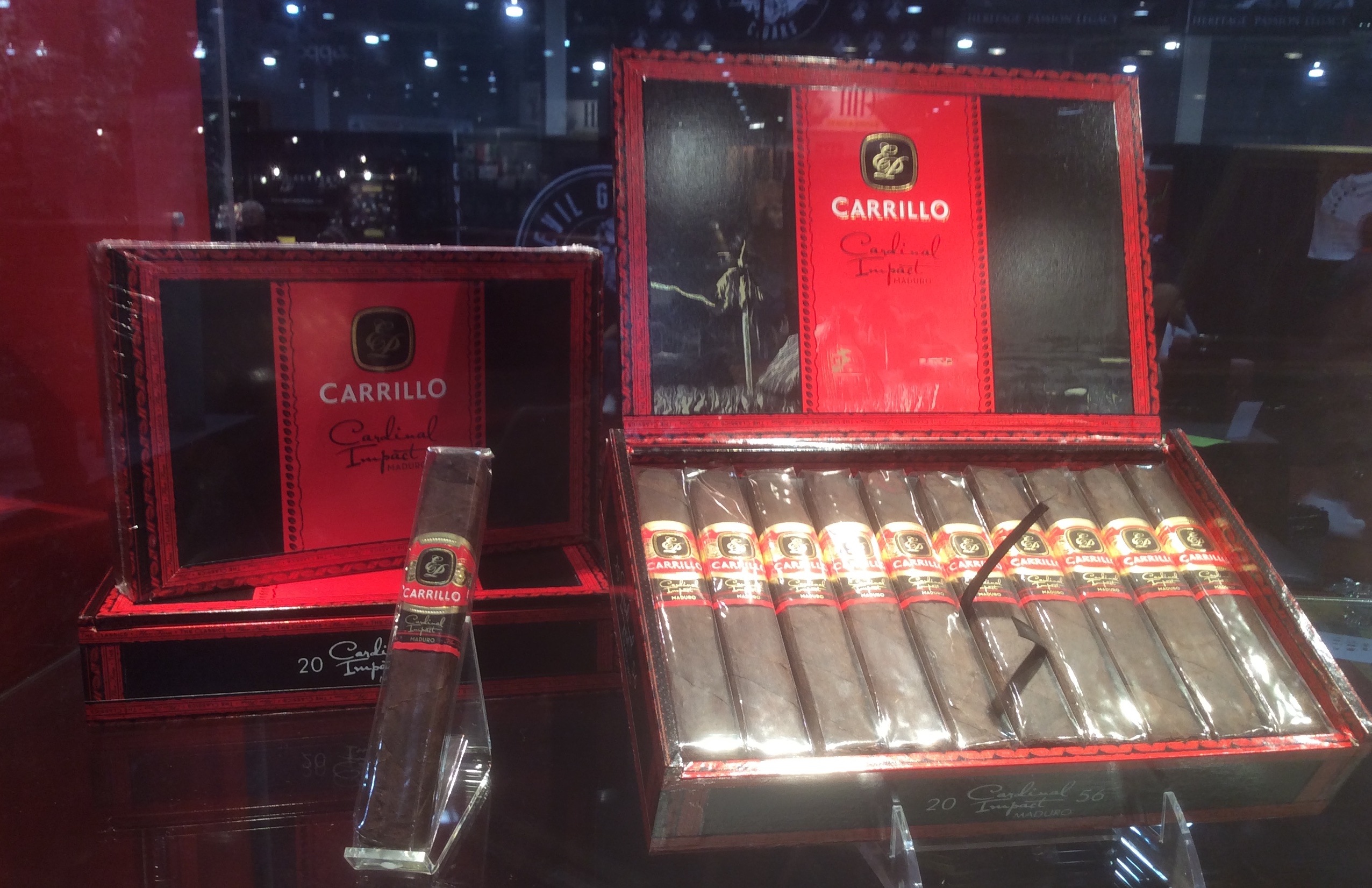 Cigar News: E.P. Carrillo Cardinal Impact Launches at the 2016 IPCPR Trade Show