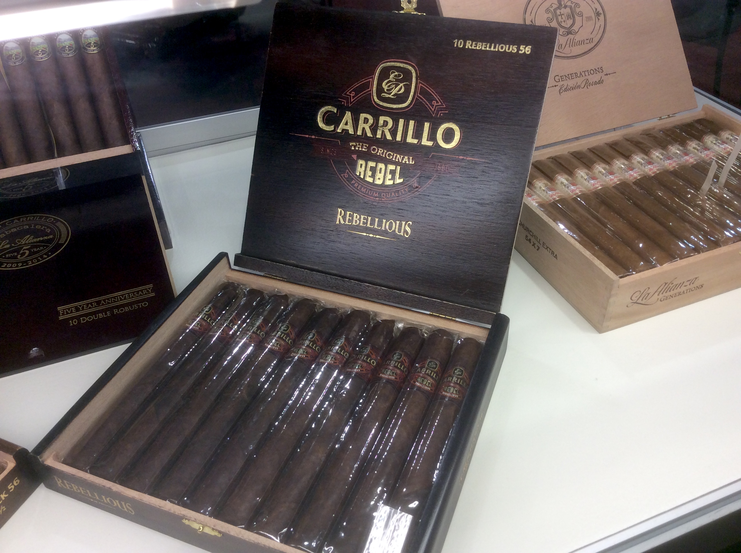 Agile Cigar Review: E.P. Carrillo Original Rebel Rebellious 56