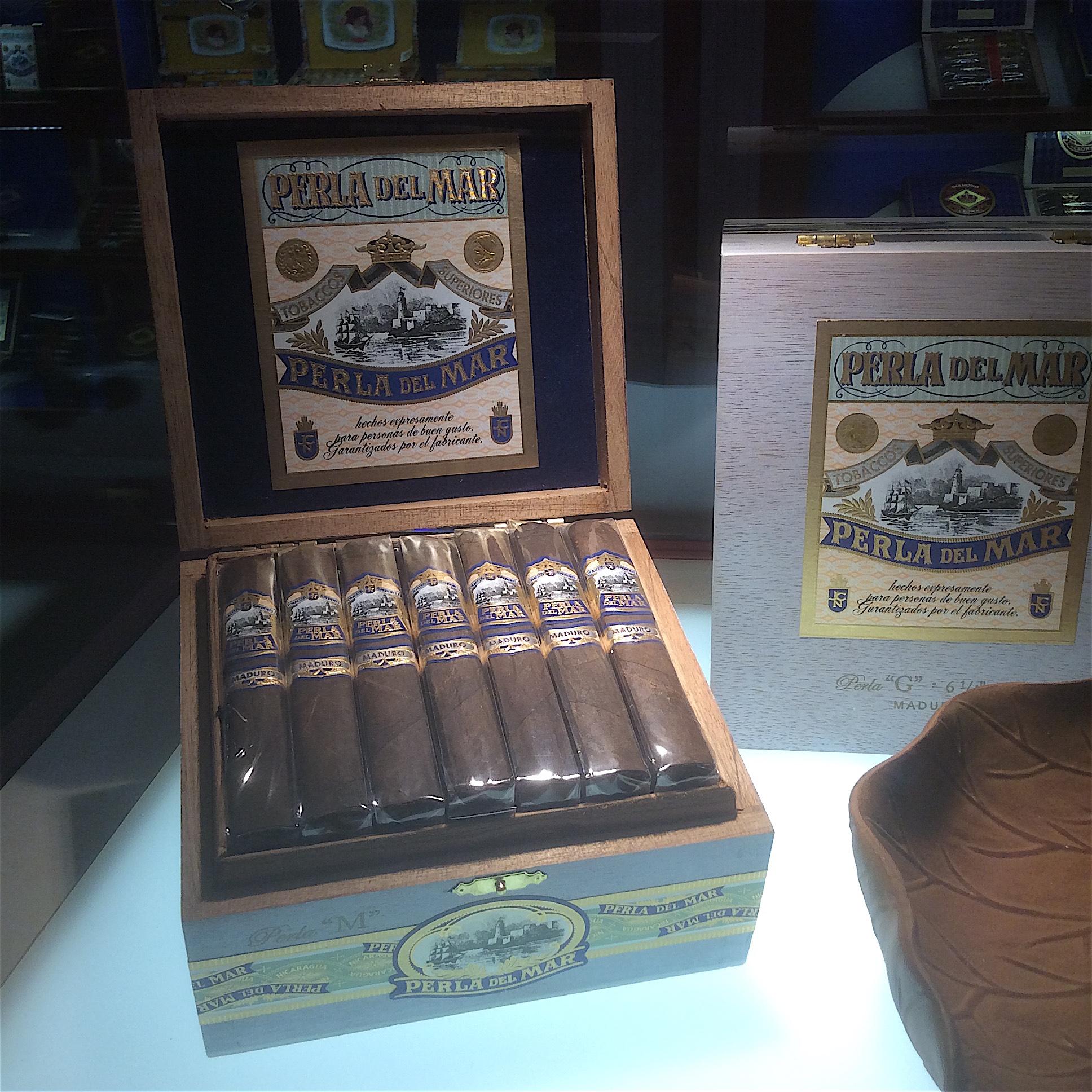 Cigar News: J.C. Newman Perla del Mar Maduro Launched at 2016 IPCPR
