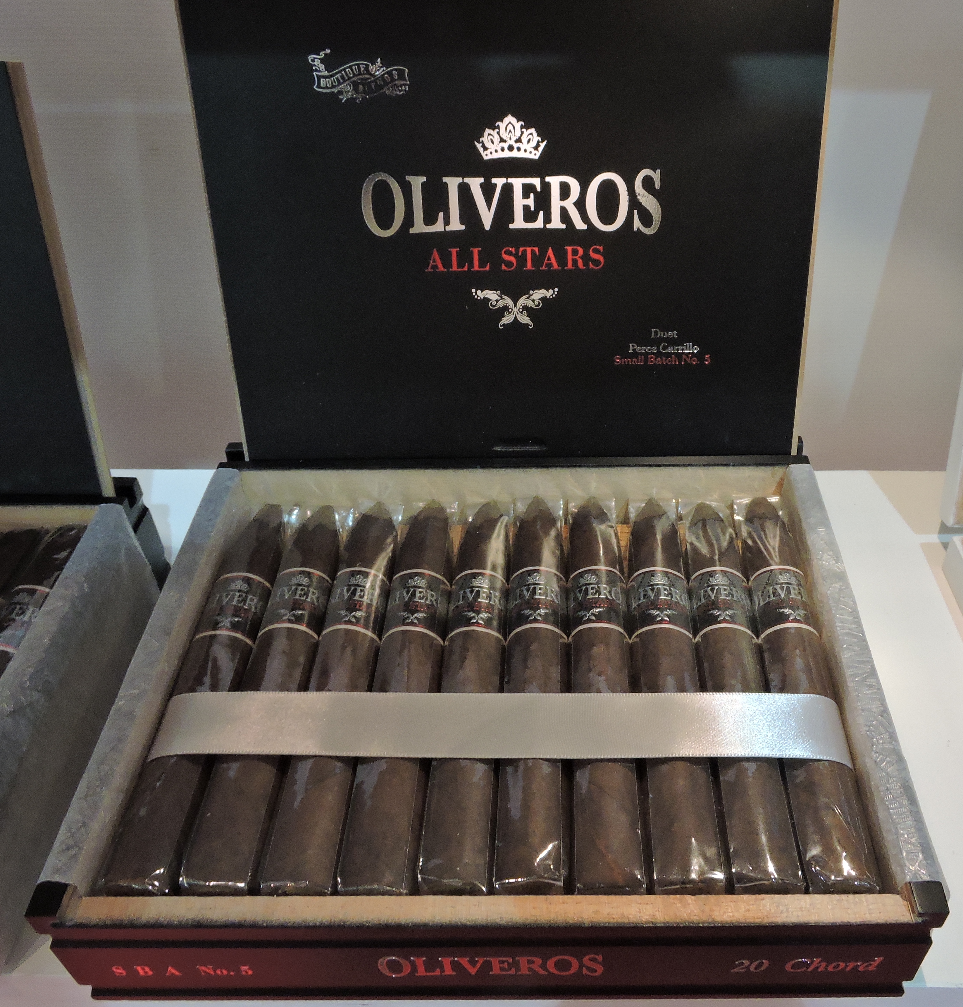 Cigar News: Boutique Blends Launches Oliveros All Stars at 2016 IPCPR Trade Show