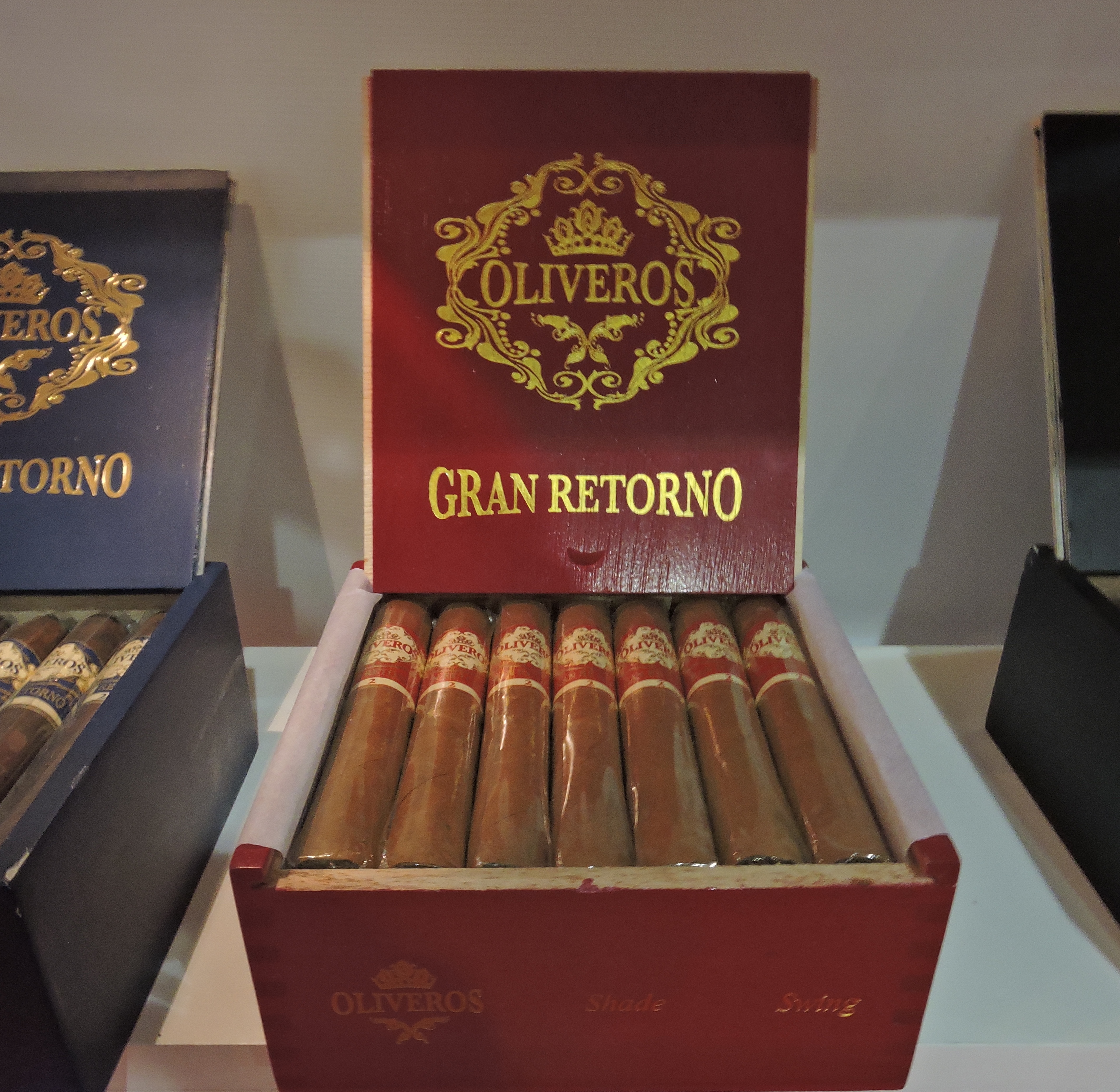 Cigar News: Oliveros Gran Retorno by Boutique Blends Officially Launches at 2016 IPCPR