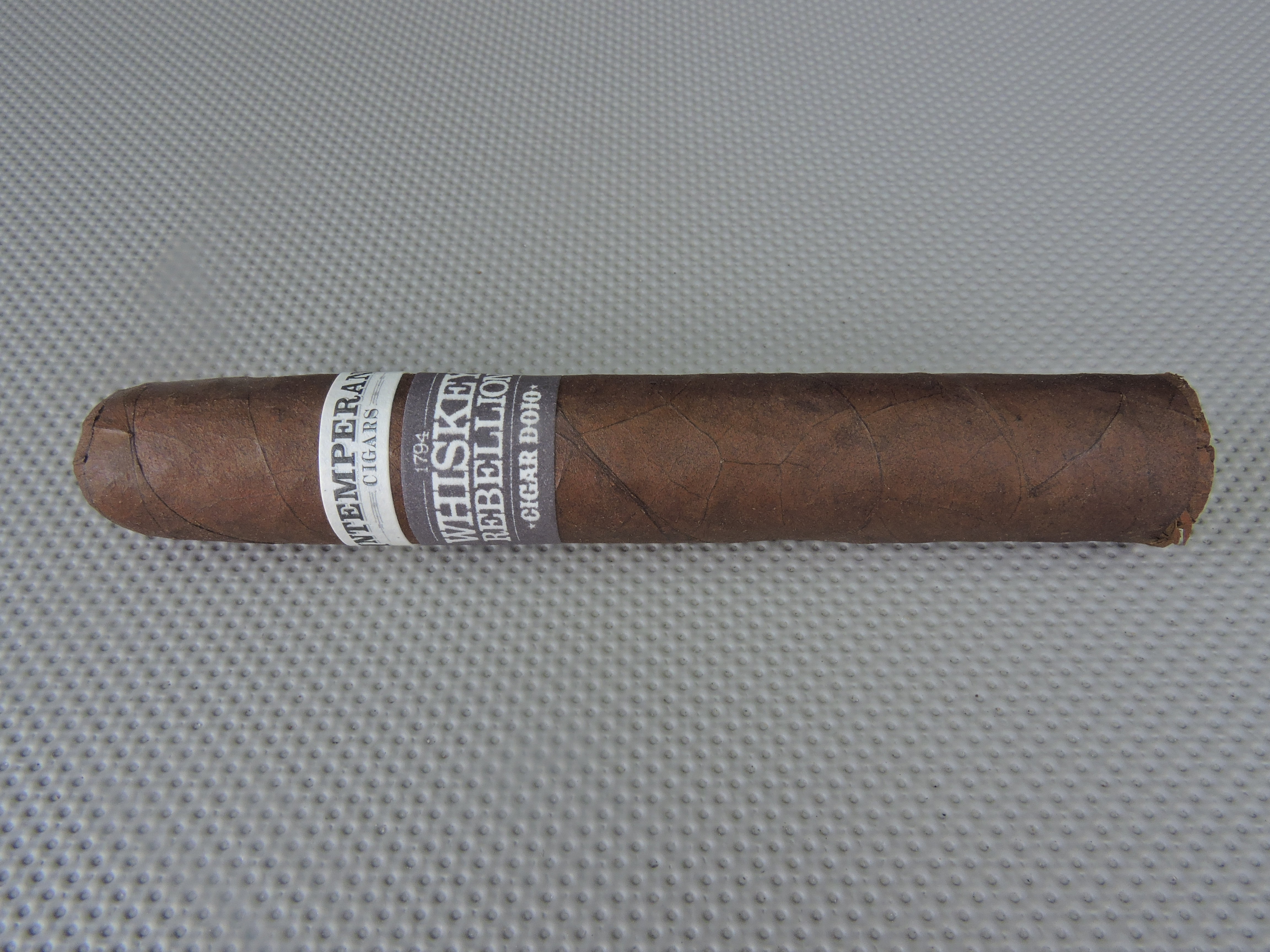 Cigar dojo for Coopers craft bourbon review