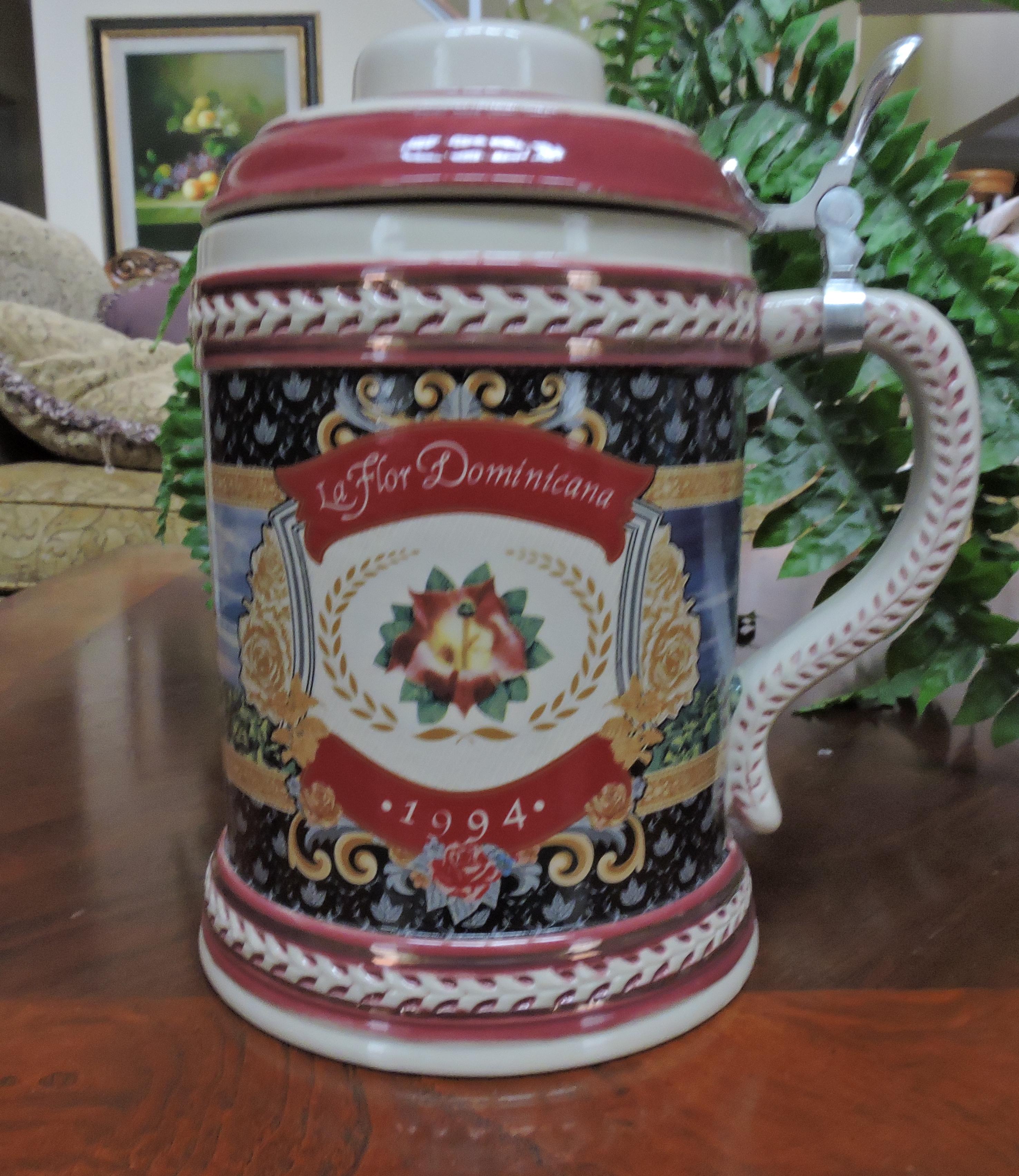 la_flor_dominicana_1994_beer_stein